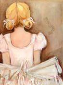 Beautiful Ballerina - Blonde Wall Art