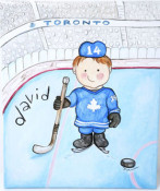 Go Leafs Wall Art