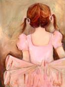 Sweet Ballerina - Brunette Wall Art