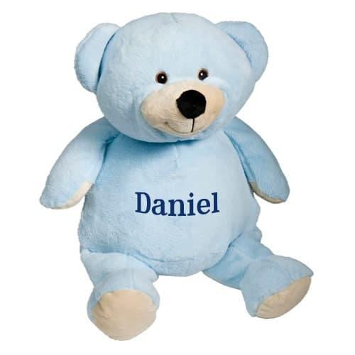 Personalized Stuffed Animal – Blue Bear