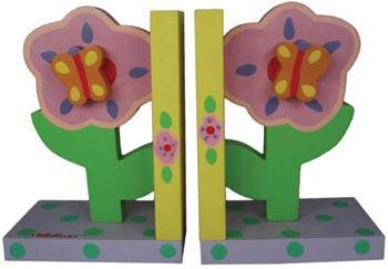 Flower Bookends