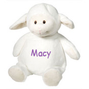 Personalized Stuffed Animal - Lamb