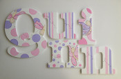 dragonflies wooden letters