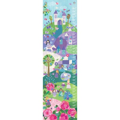 Canvas Growth Chart Enchanted Land You Name It Baby