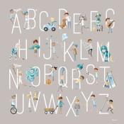 B is for Boys Alphabet