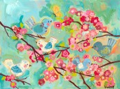 Cherry Blossom Birdies