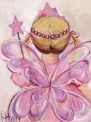 Little Fairy Princess Blonde Wall Art