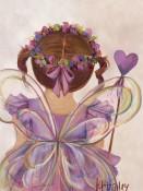 Little Fairy Princess Brunette Wall Art