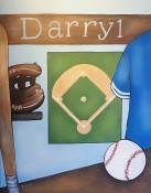 Kids Baseball Art