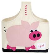 Personalized Storage Caddy - Pig