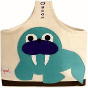 Personalized Storage Caddy - Walrus