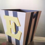 Wooden Bins & Plaques