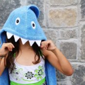 Personalized Kids Towel - Shark