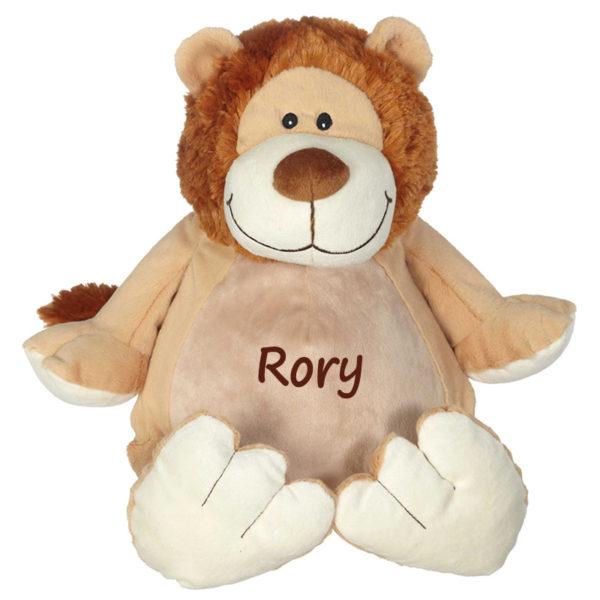 personalized stuffed animal – lion