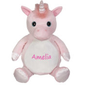 personalized stuffed animal - unicorn