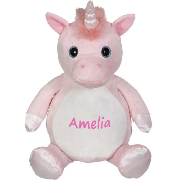 personalized stuffed animal – unicorn