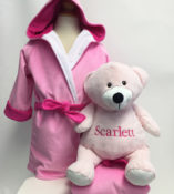 personalized kids robes