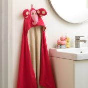 3 Sprouts Hooded Towels