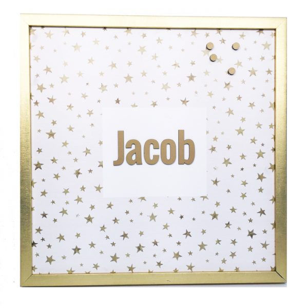 personalized magnet board – be bright