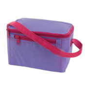 Lilac Hot Pink Personalized Lunch Box