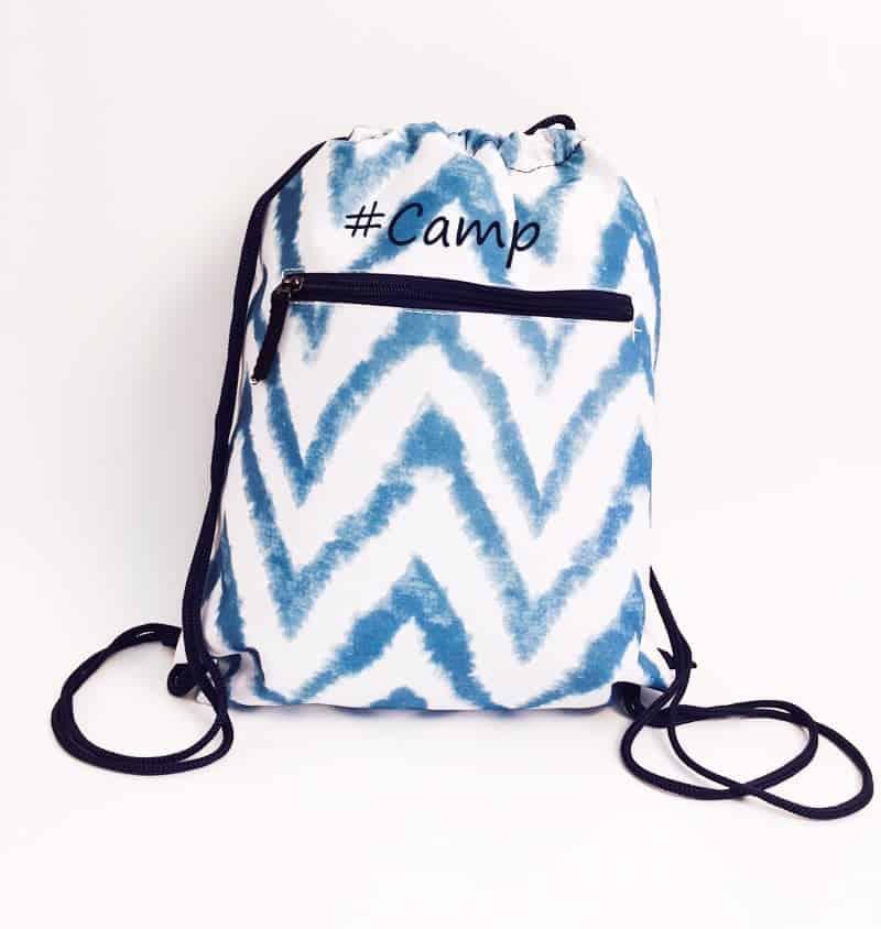 Summer Sling Bag – Blue Waves