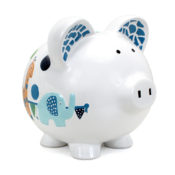 Personalized Piggy Bank - Circus