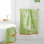 Kassa Kids Jungle Personalized Bath Towel