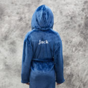 Personalized Kids Robes - Blue