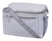 lunch box - grey gingham