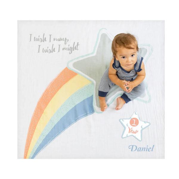 Baby Milestone Blanket – Wish I May