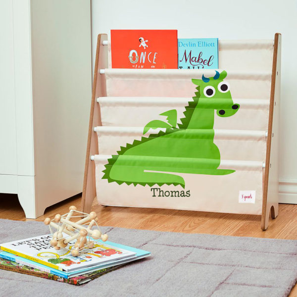 3 Sprouts Book Rack – Dragon