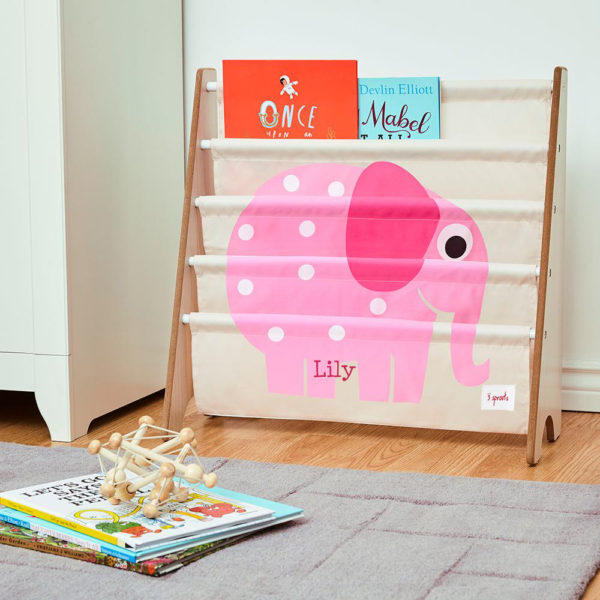 3 Sprouts Book Rack – Elephant