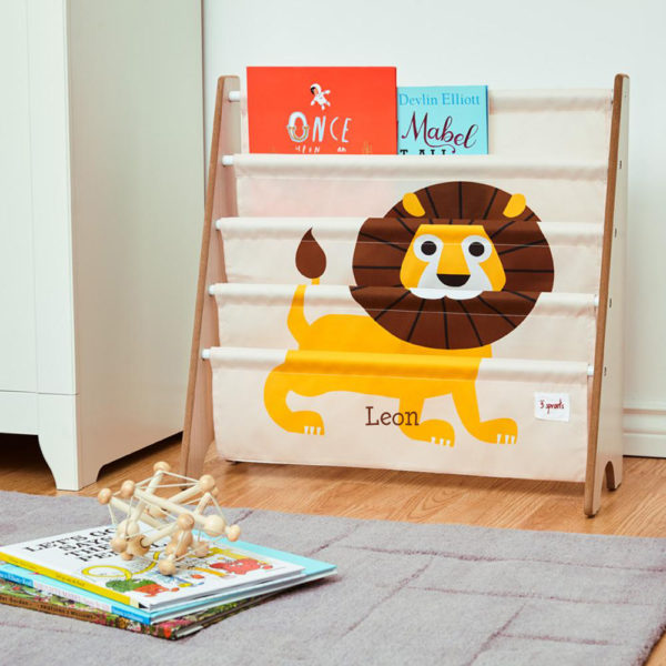 3 Sprouts Book Rack – Lion