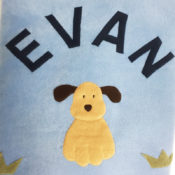 Personalized Fleece Blanket - Dog