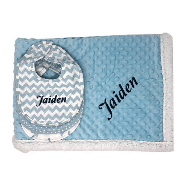 Personalized Baby Gift Set – Little Boy Blue