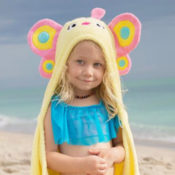 Personalized Kids Towel - Butterfly