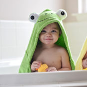 Personalized Kids Towel - Frog