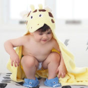 Personalized Kids Towel - Giraffe