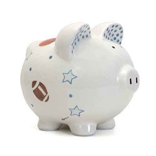 Personalized Piggy Bank – Sport Star