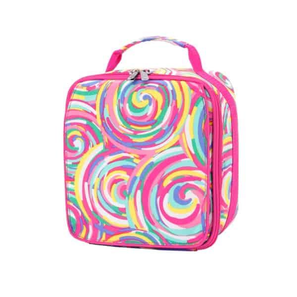 Personalized Kids Lunch Bag – Sorbet Swirl