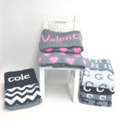 Hand Knit Cotton Blanket