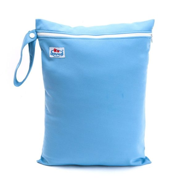 baby land blue wetbag