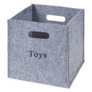 Personalized Felt Storage Cube