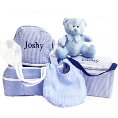 PERSONALIZED GIFT BASKETS & SETS FOR BABY BOYS & GIRLS