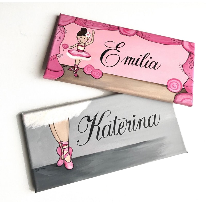 PERSONALIZED BABY NAME SIGNS & LETTERS FOR NURSERY WALL